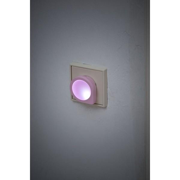 LED Nachtlicht rosa leuchtend
