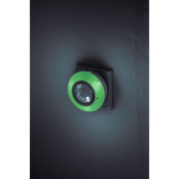 LED Nachtlicht Color gr??n leuchtend