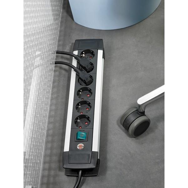 Brennenstuhl Premium-Alu-Line Steckdosenleiste Anwendungsbeispiel