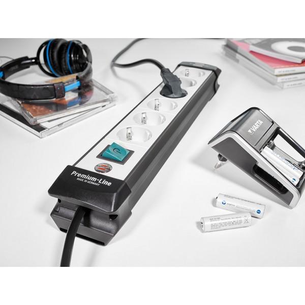 Brennenstuhl Premium Steckdosenleiste  mit Schalter - Anwendungsbeispiel