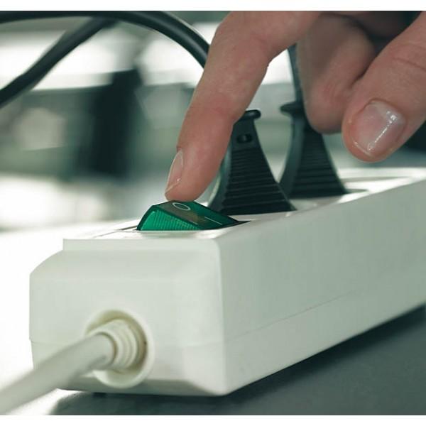 Brennenstuhl Eco-Line Steckdosenleiste mit Schalter