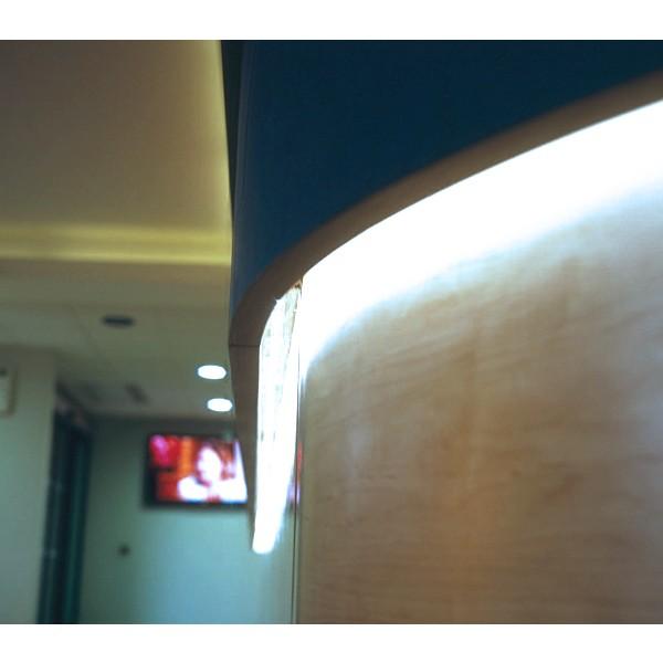 Comfort 12V CCT LED Streifen 120 LED/m - Anwendungsbeispiel - indirekte Beleuchtung - kaltwei??