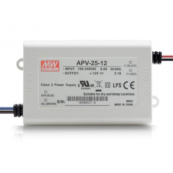 Meanwell APV-25-12 LED Netzteil