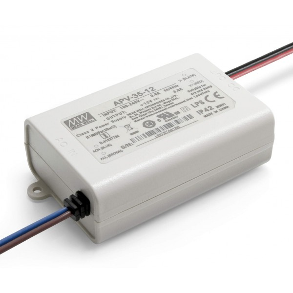 12V LED Netzteil 35W - Installationsnetzteil