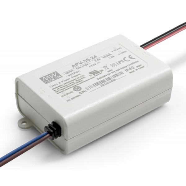 24V LED Netzteil 35W – Installationsnetzteil