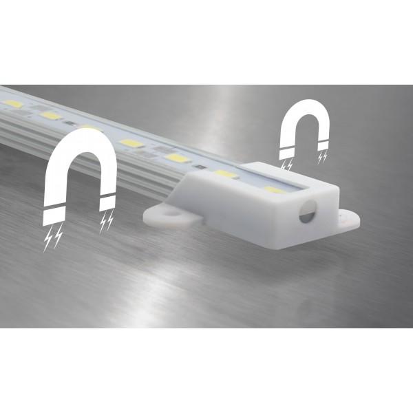 Aquariumleuchte 50cm LED kaltwei?? - Befestigung: Magnete