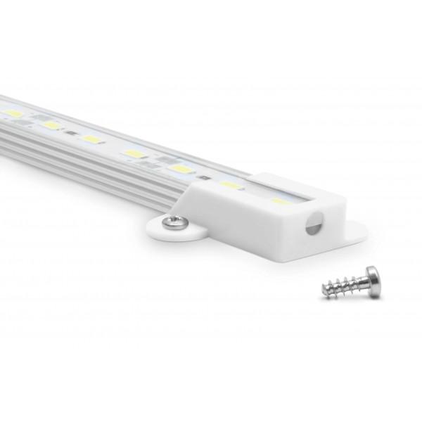 Aquariumleuchte 50cm LED kaltwei?? - Befestigung: Schrauben