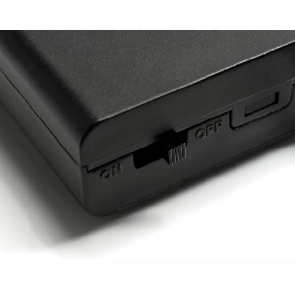 Batteriebox f??r mobile LED Anwendungen - Detailbild Schalter