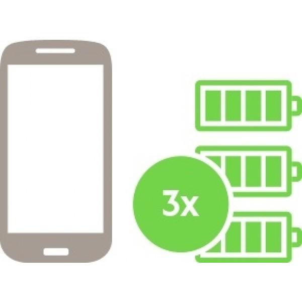 Belkin Premium RockStar Metallic Power Bank - 3 x aufladen Deines Smartphones