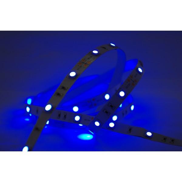 LED Treppenbeleuchtung - Beispiel Farbwiedergabe - blau