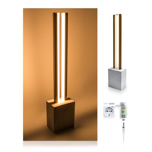 LED Tischleuchte Damon - inkl. 12 V Netzteil