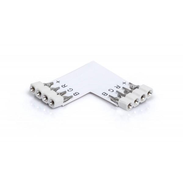 Eckverbinder 4 polig für RGB LED Streifen