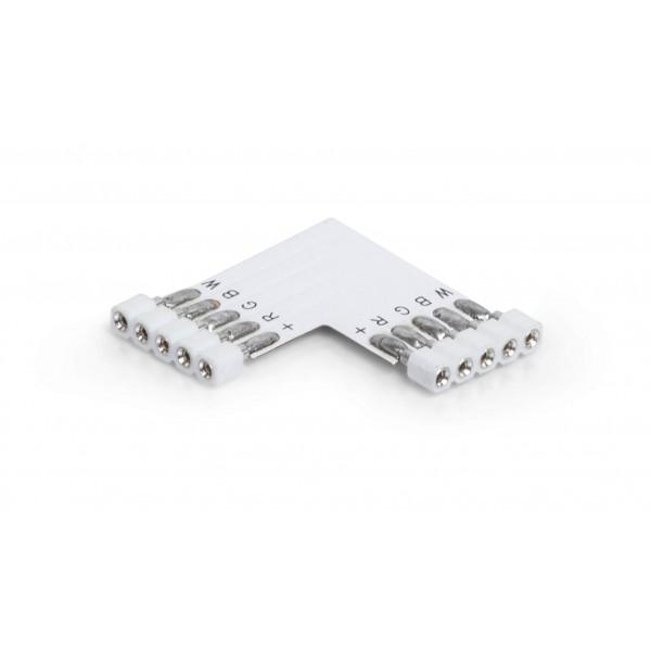 Eckverbinder 5 polig für RGB-W LED Streifen