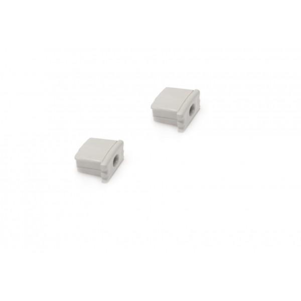 Aluminium Profil U RGB,ww, kw, nw, cw, LED, Streifen, Blende, Matt, Endkappen, Verschluss,