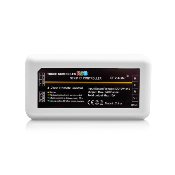 4 Zonen Funkcontroller RGB