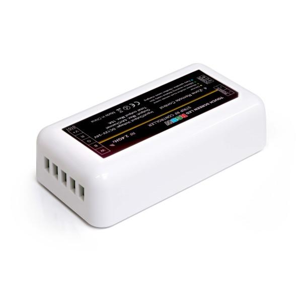 4 Zonen Funkcontroller | RGBW (RGB) | 2,4GHz (Anschlüsse LED)
