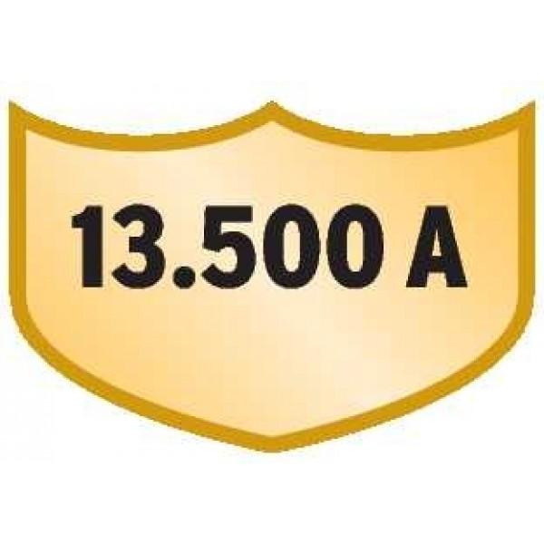 Ableitstrom bis zu 13.500 A