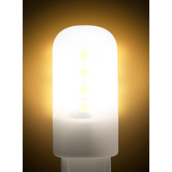 LED G9 Stiftsockellampe - angeschaltet