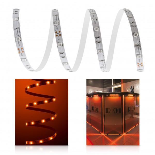 Classic 12V LED Streifen orange 30 LED/m