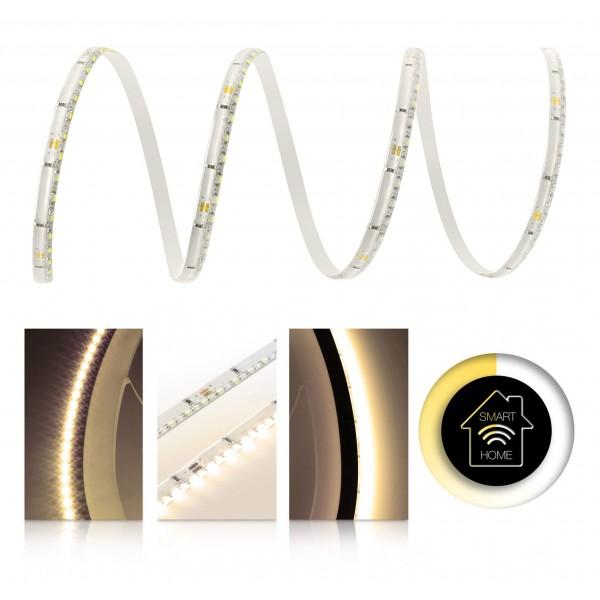 Premium LED SideView Streifen warmweiß 120 LED/m - Smart Home Funk-Set