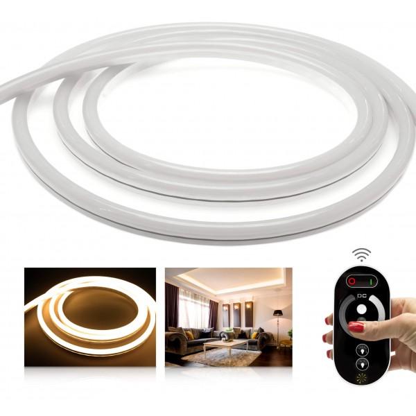 NeonFlex Premium 24V warmweiß LED Streifen - Funk