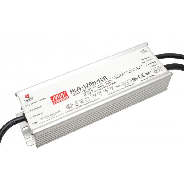 MeanWell Installationsnetzteil HLG 120 Watt in der 12V Version