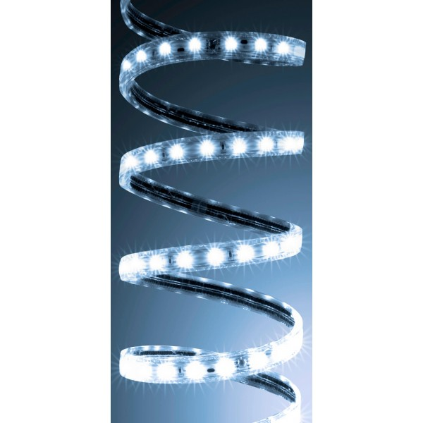 Professional High Power SMD5050 230V LED Streifen ??? kaltwei?? ??? an