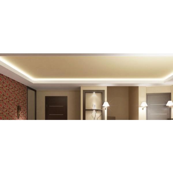 Premium 24V S-Shape Streifen - 72 LED/m - warmweiß - Anwendungsbeispiel