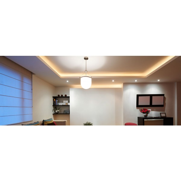 Premium 24V LED SideView Streifen Set 120 LED/m - warmweiß - Anwendungsbeispiel