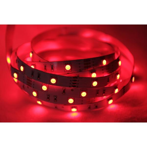 ... LED Treppenbeleuchtung Für Den Innenbereich   RGB   Rot ...