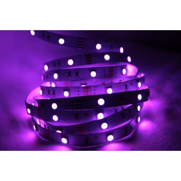 LED Treppenbeleuchtung für den Innenbereich - RGB -  violett