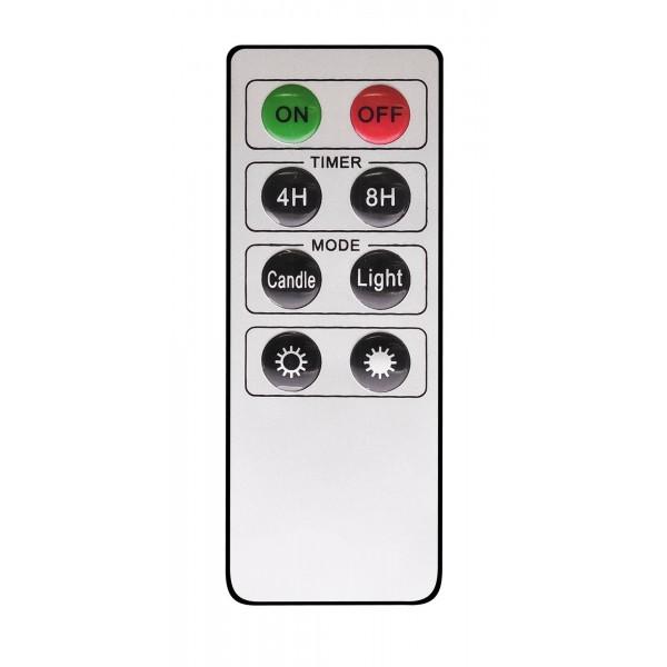 LED Weihnachtsbaumkerze - Infrarotfernbedienung
