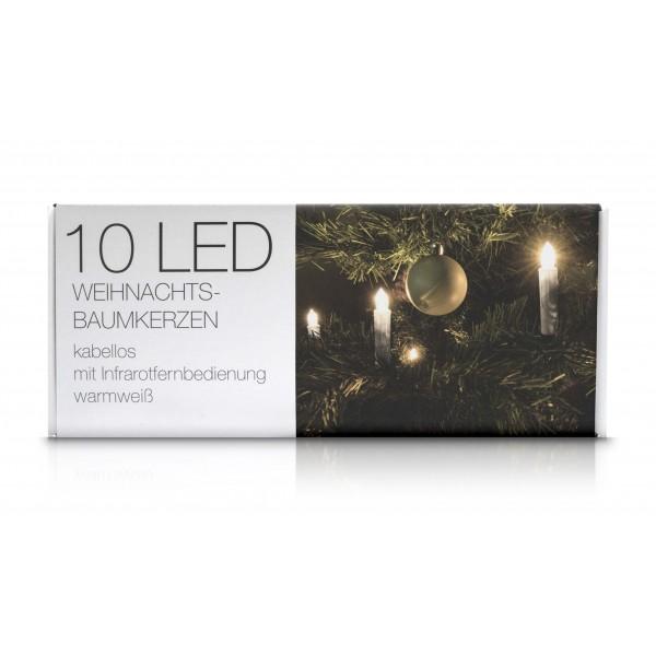 LED Weihnachtsbaumkerzen - Standardlieferumfang