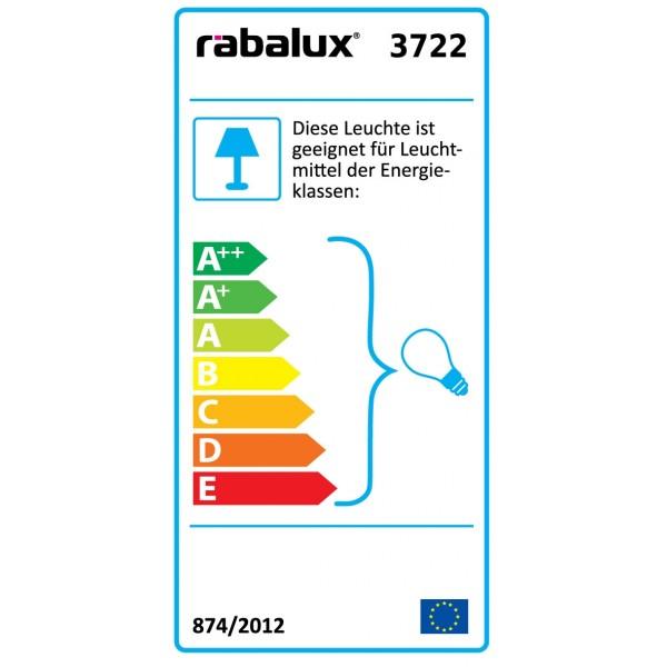 3722 Deckenleuchte Athen - Energieeffizienz-Label