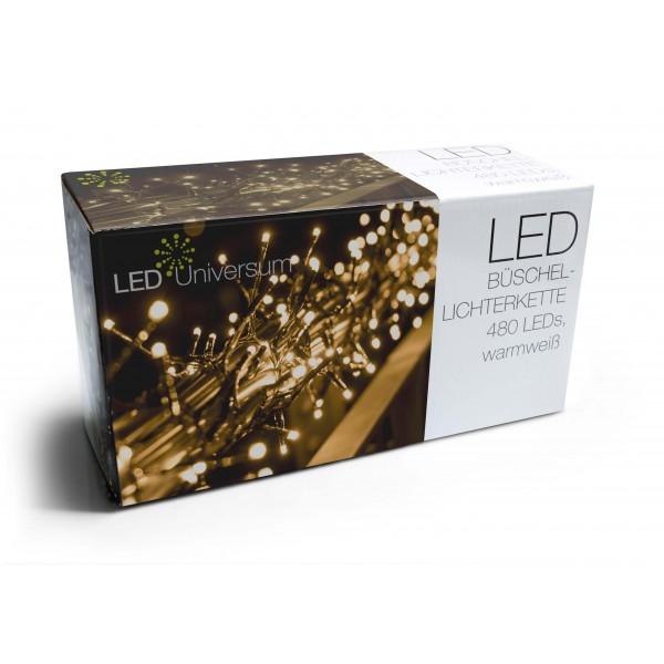 LED Universum Verpackung Cluster Lichterkette