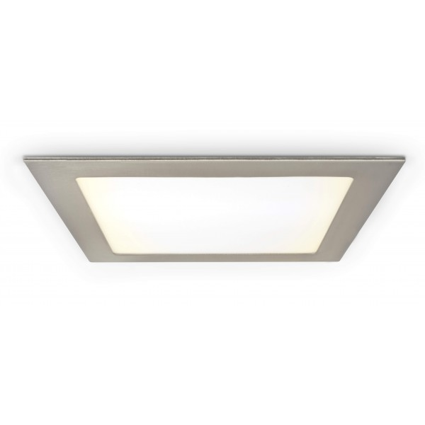 Quadratisches LED Panel mit Metallrahmen - 18W - warmwei?? - Decke