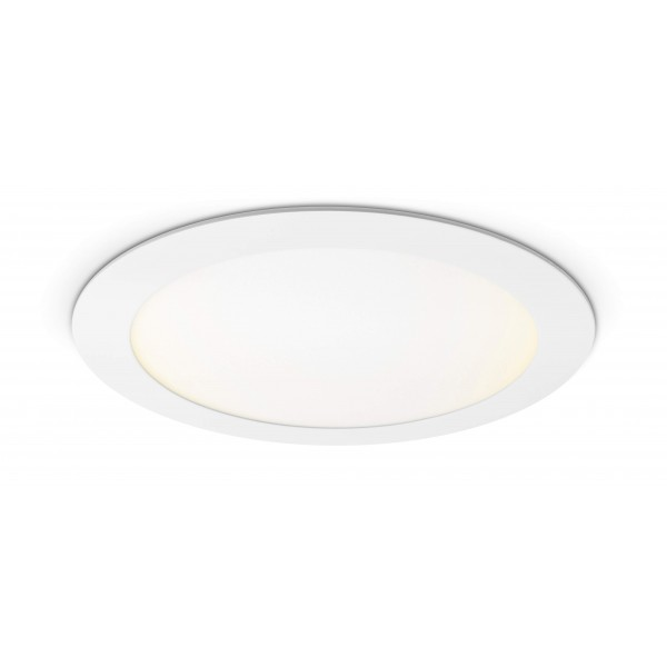 Rundes LED Panel - 18W - warmweiß - Decke