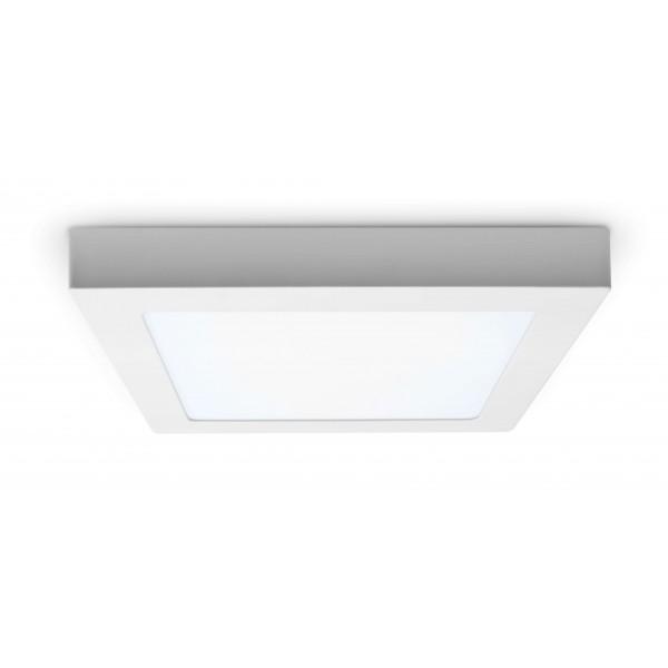 LED Panel zur Aufputzmontage - 18W  - quadratisch - kaltweiß - Decke