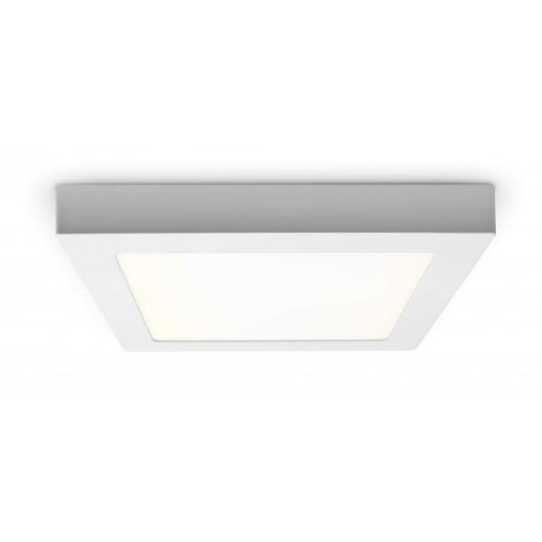 LED Panel zur Aufputzmontage - 18W  - quadratisch - neutralweiß - Decke