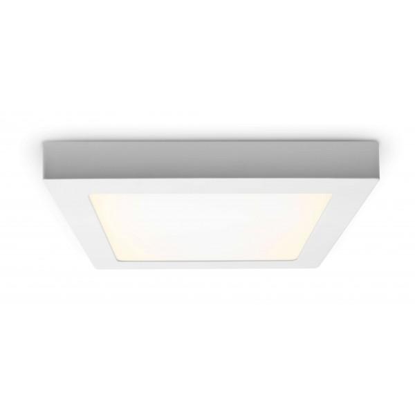 LED Panel zur Aufputzmontage - 18W  - quadratisch - warmweiß - Decke