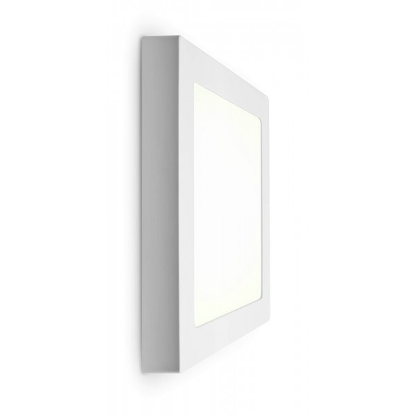 LED Panel zur Aufputzmontage - 18W  - quadratisch - neutralweiß - Wand