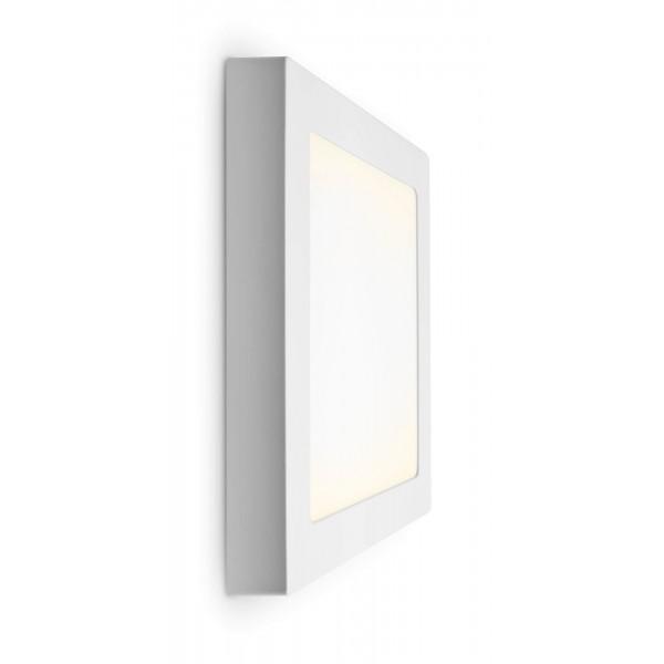 LED Panel zur Aufputzmontage - 18W  - quadratisch - warmwei?? - Wand