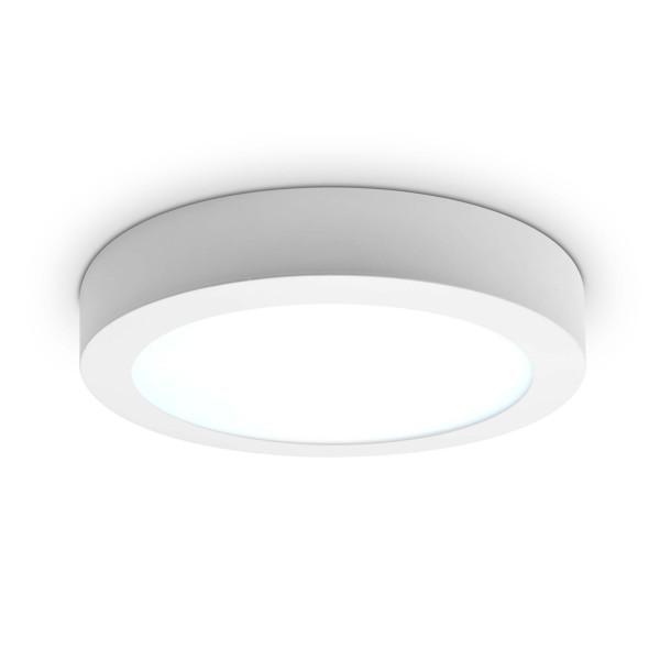 LED Panel zur Aufputzmontage - 18W  - rund - kaltwei?? - Decke