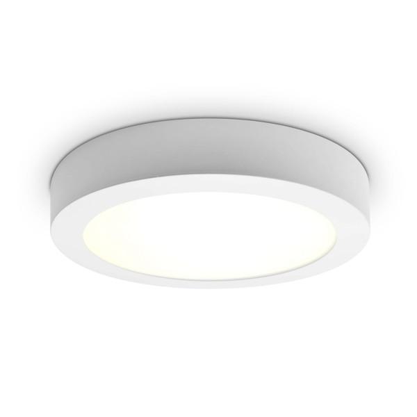 LED Panel zur Aufputzmontage - 18W  - rund - neutralwei?? - Decke
