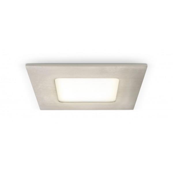 Quadratisches LED Panel mit Metallrahmen - 4W - warmwei?? - Decke