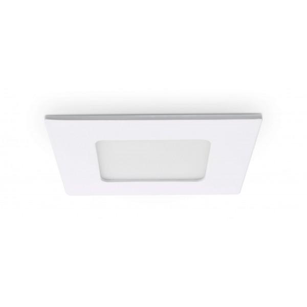 Quadratisches LED Panel - 4W - ausgeschaltet - Decke