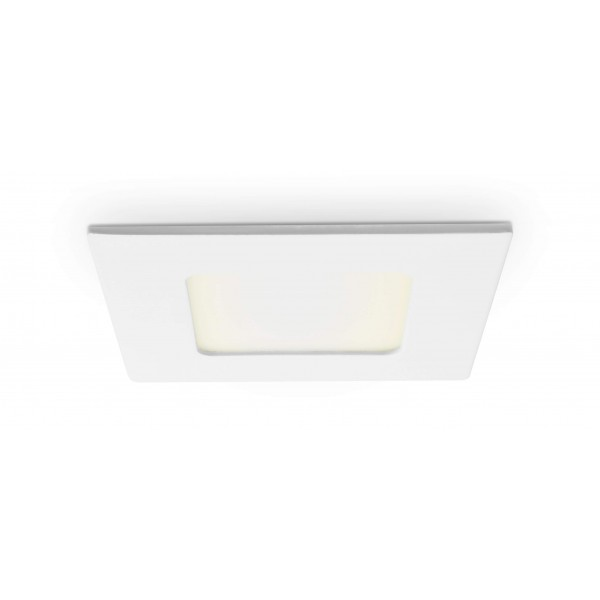 Quadratisches LED Panel - 4W - warmwei?? - Decke