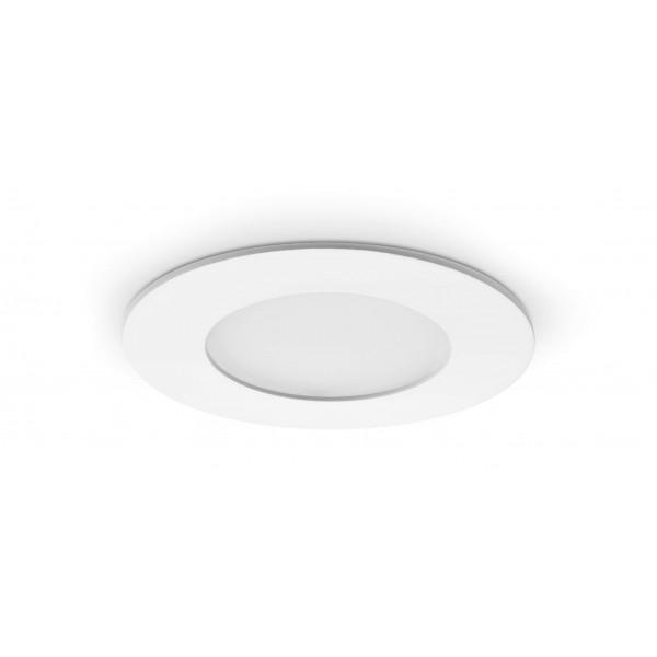 Rundes LED Panel - 4W - ausgeschaltet - Decke