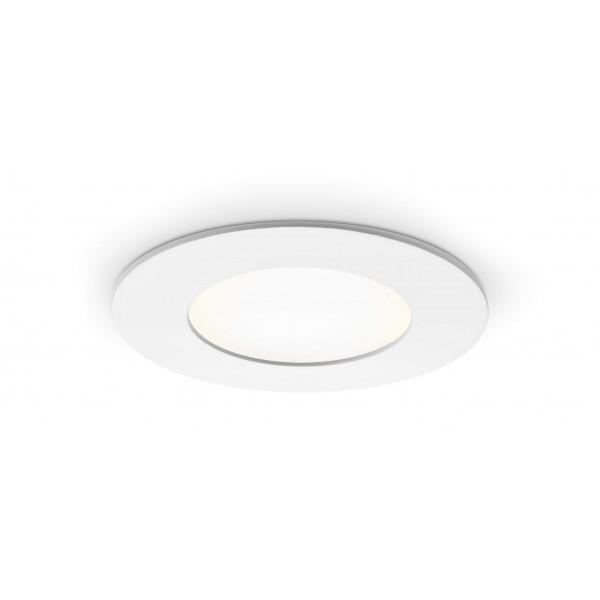 Rundes LED Panel - 4W - eingeschaltet - Decke