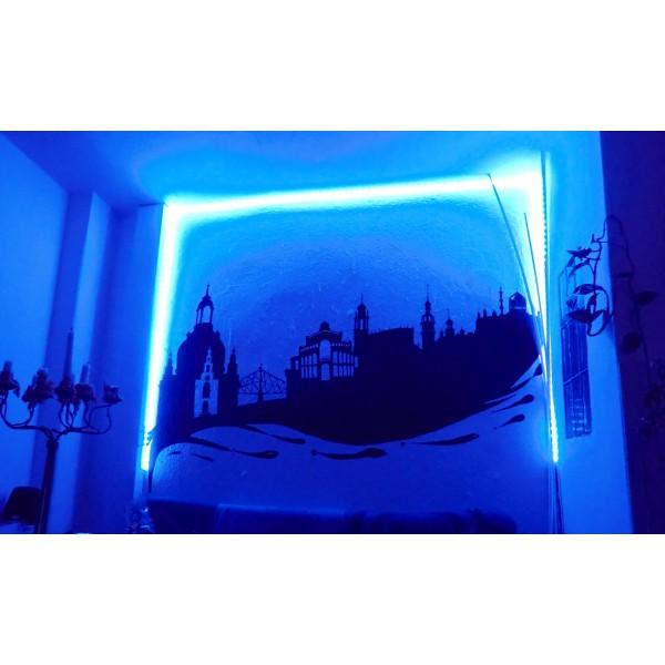 RGB-WW Blau